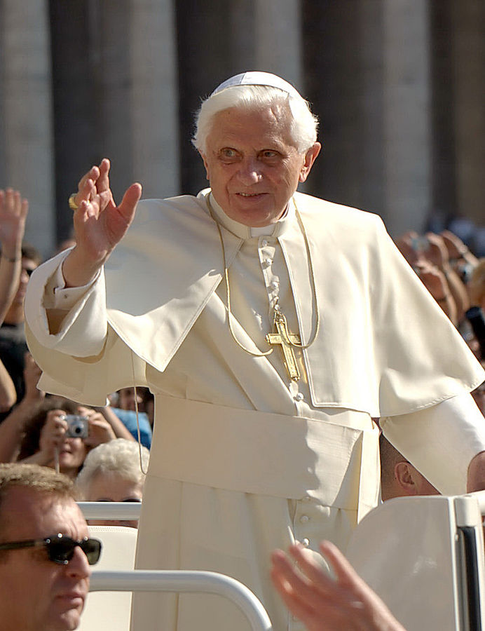 foto: Sergey Gabdurakhmanov - Initialement posté sur Flickr comme Pope Benedict XVI, licencja CC BY 2.0 via Wikimedia Commons