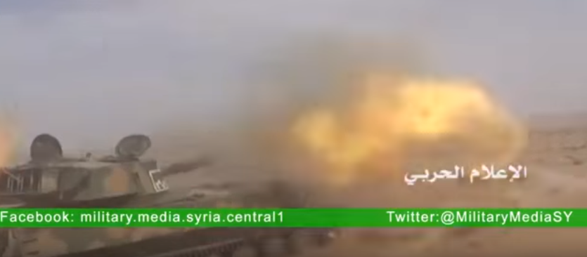 """foto: YouTube (Syrian Military News) """"Syrian War today 20 March 2016 Battle for Palmira"""""""