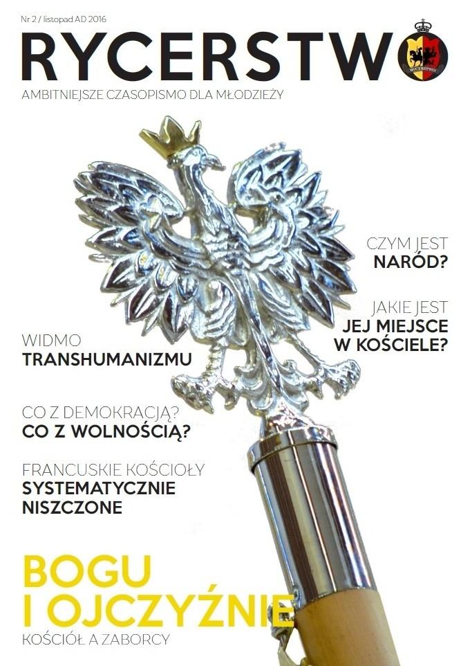 """""""Gazeta Rycerstwo"""" nr 2/2016; www.gazetarycerstwo.pl; foto: Ks. Przemysław Pojasek"""