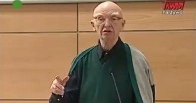 Archiwalny wykład prof. Wolniewicza o stosunku i planie Żydów wobec Polski (WIDEO)