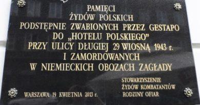 """Żydzi kolaborowali z Niemcami. """"Sprzedali za pieniądze 2,2 tys. Żydów"""""""