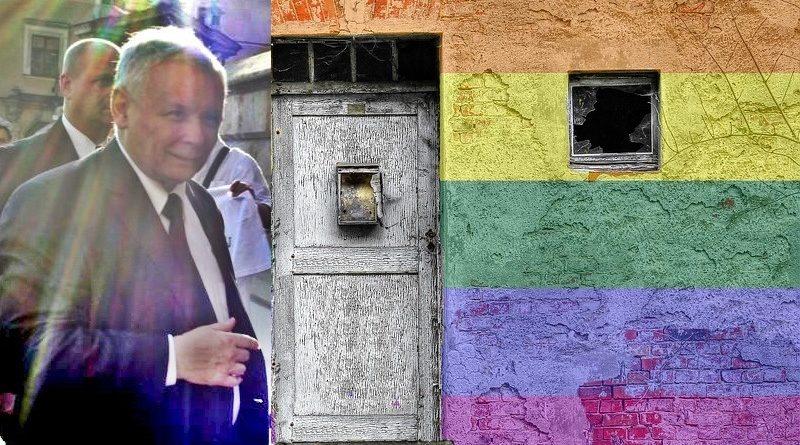 Jarosław Kaczyński wprowadza gender tylnymi drzwiami?/Fot. Piotr Drabik, CC BY 2.0, Flickr/Pixabay (kolaż)
