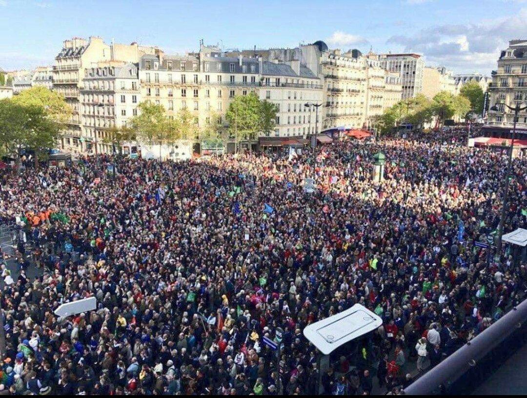 Znalezione obrazy dla zapytania protest in paris in vitro