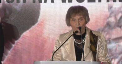 """Kalinowska: """"Niemiec i Ruski mordowali humanitarnie, bo strzelali. Ukrainiec nie strzelał"""""""