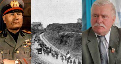 """Wałęsa jak Mussolini i włoscy faszyści? Zapowiada """"Marsz na Warszawę"""""""