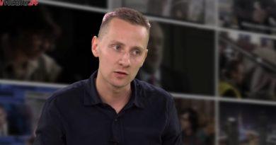 Międlar dostał zarzuty za hasło sprzeciwiające się ukraińskiemu nazizmowi