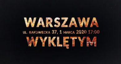 Spot promujący Marsz Żołnierzy Wyklętych (WIDEO)