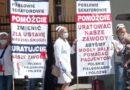 Pielęgniarki protestowały w Warszawie